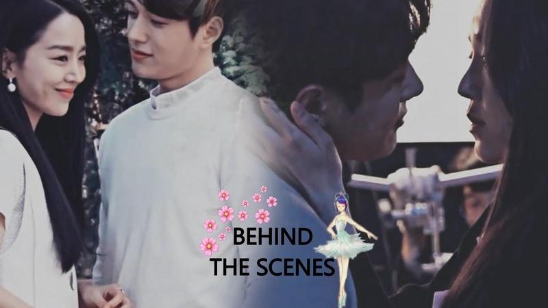 Shin Hye Sun ♥ Kim Myung Soo (L) ~ behind the scenes moments