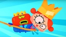Четверо в кубе - Кубопраздник - развивающий мультфильм для детей