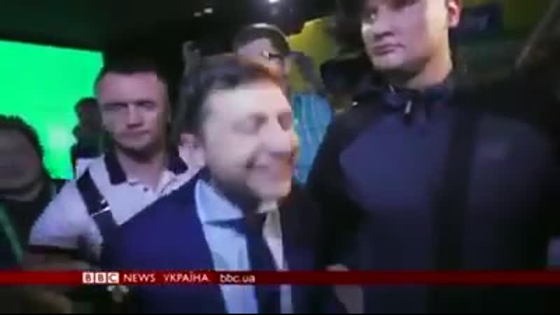 Зеленський дуже жорстко відповів журналісту ВВС о своїх перших кроках, коли його оберуть президентом😂😂