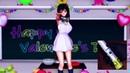 【MMD R-18】古手川唯が教室でバレンタインストリップダンス
