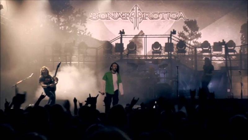 Sonata Arctica In Black White Open Air II