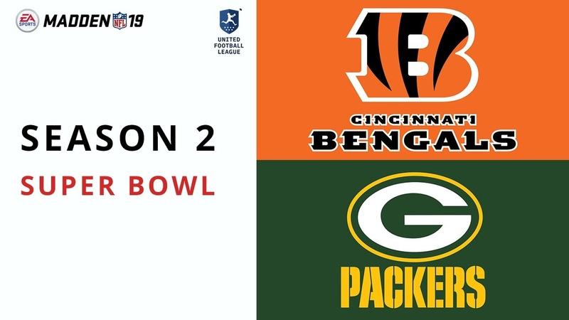 UFL Superbowl | SE02 | Bengals vs Packers