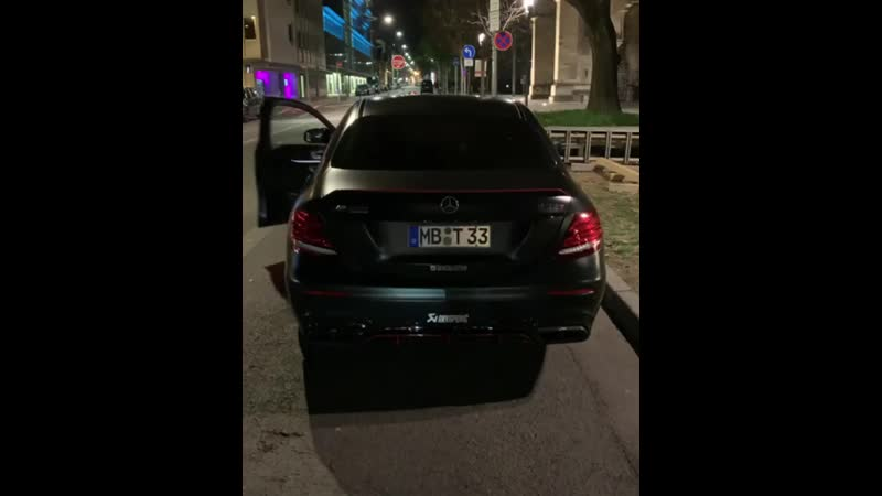 Exhaust E63s AMG 700hp