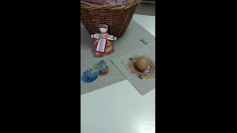 Куколка на пасхальное яичко