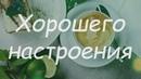 Открытка Хорошего настроения Отличного дня Кофе Лайм Десерт