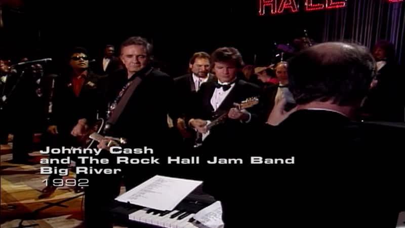 Johnny Cashl and The Rock Hall Jam Band - Big River (1992)