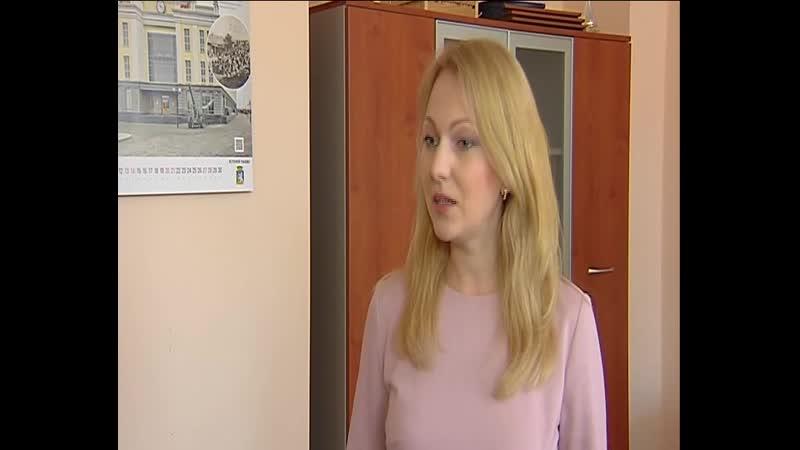 Вероника Куликова провела думский урок в лицее №10