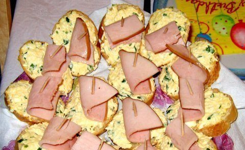 Бутерброды для вкусного перекуса!)