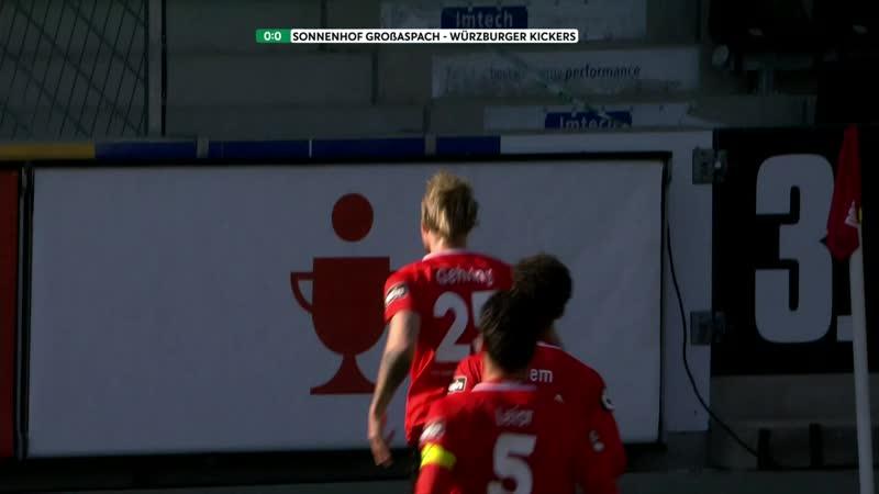 SG Sonnenhof Großaspach 2 1 FC Würzburger Kickers