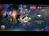 Clash Royale | Чемпионат России по киберспорту 2019 | Плей-офф | 1/8-финала