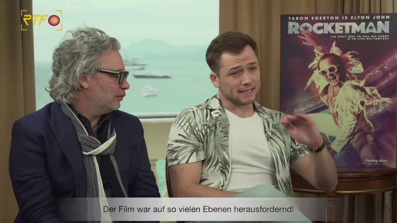 Rocketman - Interview mit Taron Egerton Dexter Fletcher | RTF1 Cinenews