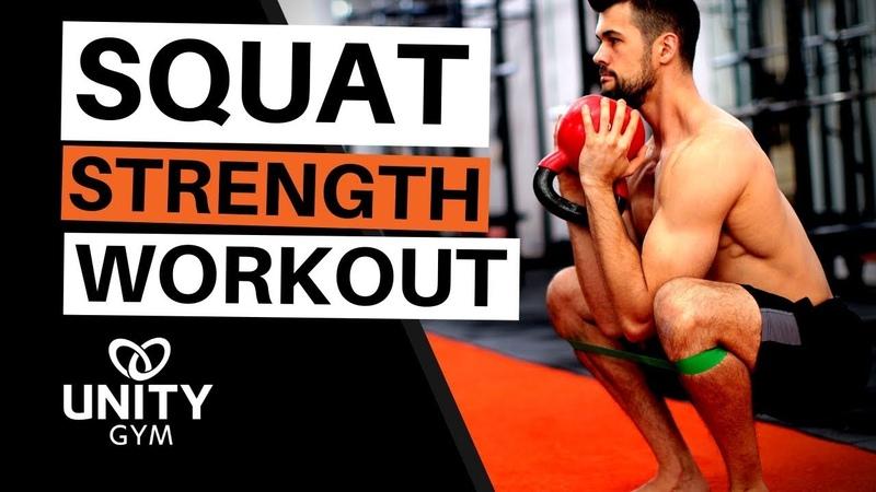 Best Squat Training [Phase 4 FMS Squat Hamstring Workout]