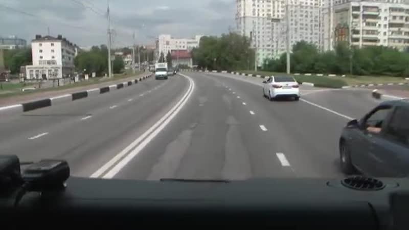 Как пропускают спецтранспорт в Белгороде