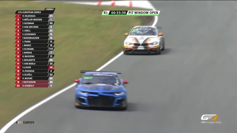 GT4 European Series 2019 Round 5 Zandvoort Race1