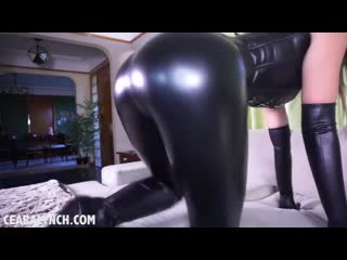 Ceare lynch joi(humiliation,body suit,young,mistress,femdom,domina,latex,leather,leggings)