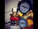 Опрессовка фитинга пресс RVC Pro на трубу BIOPIPE Standart инструментом REMS Power Press SE