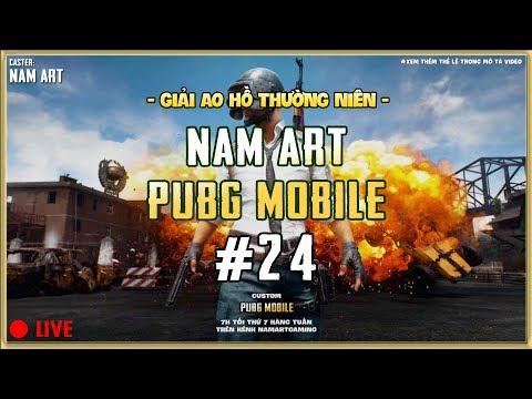 Giải Ao Hồ PUBG Mobile Mở Rộng - Custom NamArtGaming 24