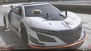 Kyosho FW-06 Acura NSX GT3 110 on road Nitro RC - Test on the track