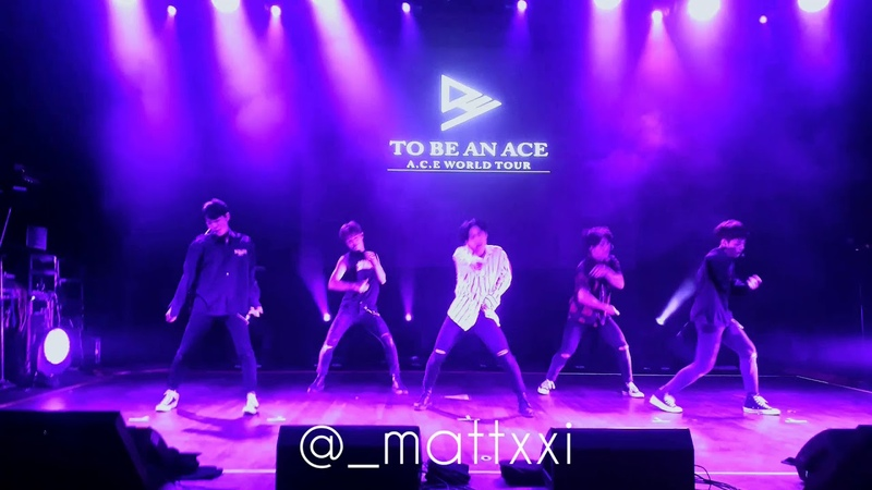 I FEEL SO LUCKY - A.C.E (에이스) in Argentina ( @_mattxxi )