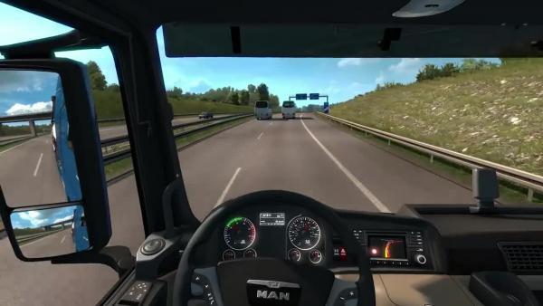 Euro Truck Simulator 2 Автобан вокруг Дрездена Dresden