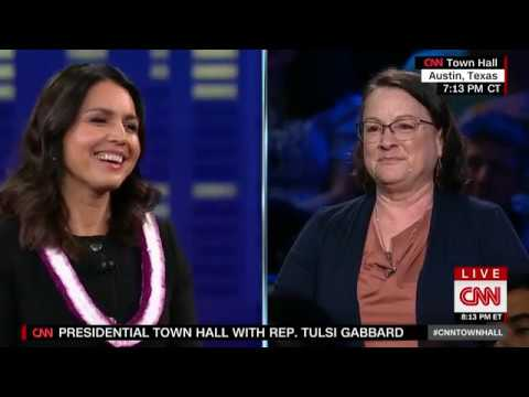 Tulsi Gabbard - CNN Presidential Town Hall Full Coverage - SXSW 2019