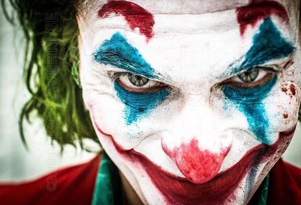 Хоакин Феникс на финальном дне съёмок «Джокера»