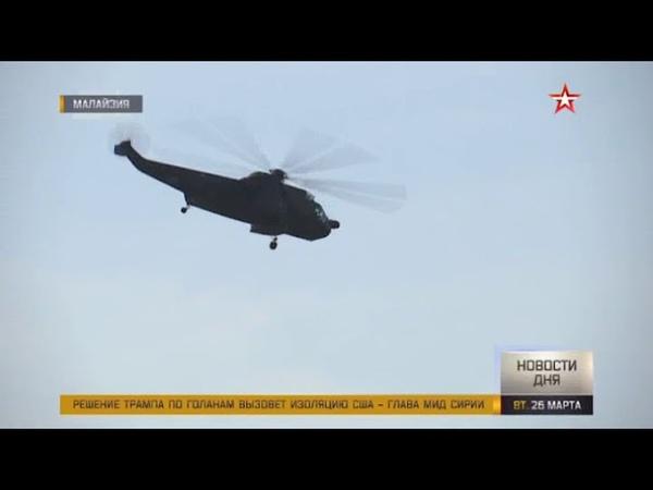 Испепеляя землю летчики Су 30МКИ ВВС Малайзии выступили на открытии LIMA 2019
