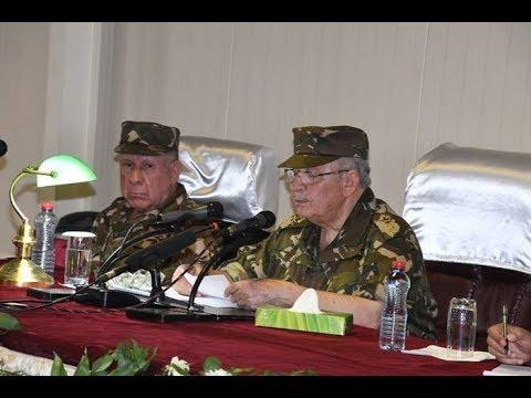 إجتماع طارئ بين القايد صالح و 4 جنرالات، ماذ