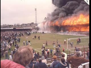 «Valley Parade» on fire (11/05/1985)