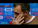Артем Дзюба после матча с Хорватией