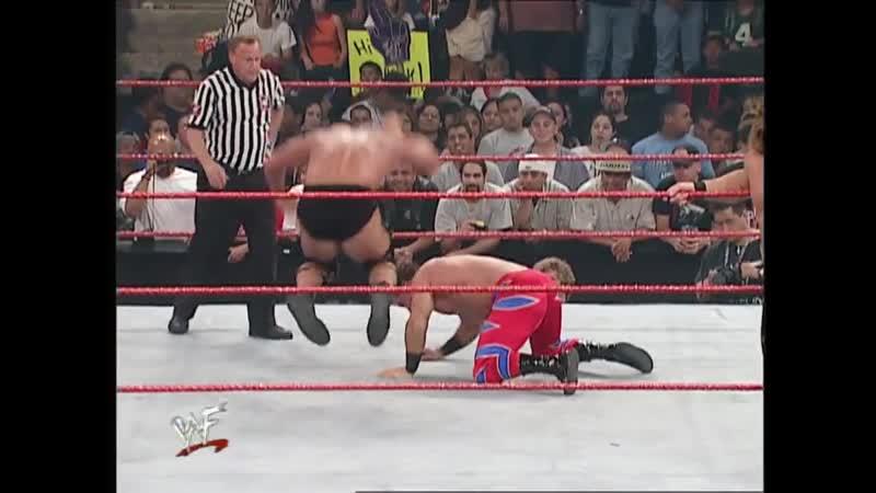9 RAW 21 05 2001 Крис Джерико Крис Бенуа пр Стив Остин Трипл Эйч