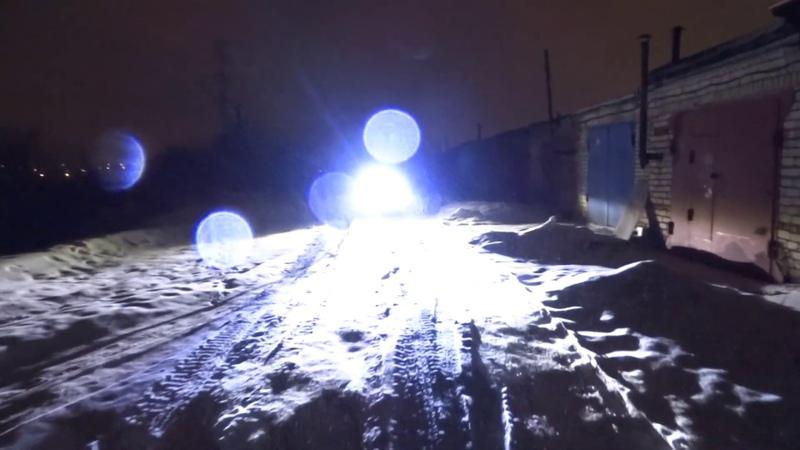 Замена головного света, Stels Guepard 650, диодные фары за 2400р