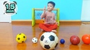 Color Song and Learn Colors with Soccer Balls More Nursery Rhymes and Kids songs Xavi ABCKids