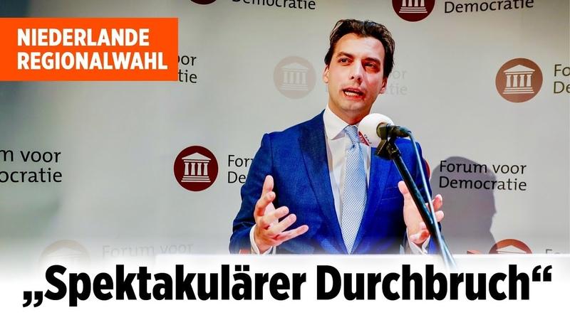 Niederlande: Rechte FvD stärker als Regierungskoalition