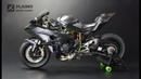 Kawasaki Ninja H2R - Tamiya 1/12 - Motorcycle Model
