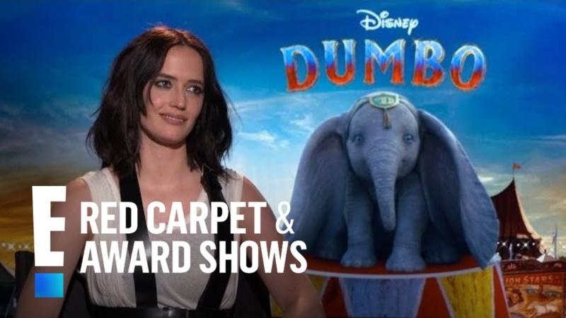 Eva Green Recalls Being Terrified of Dumbo Trapeze Stunts | E! Red Carpet Award Shows