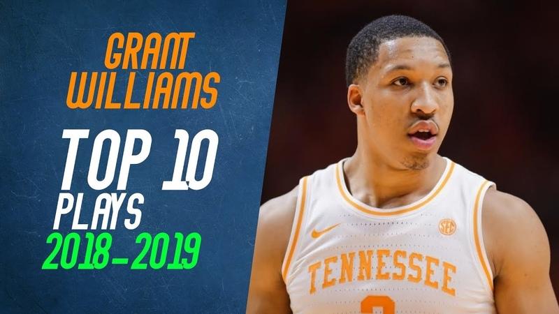 Grant Williams Top 10 Plays from 2018-2019 NCAA Season