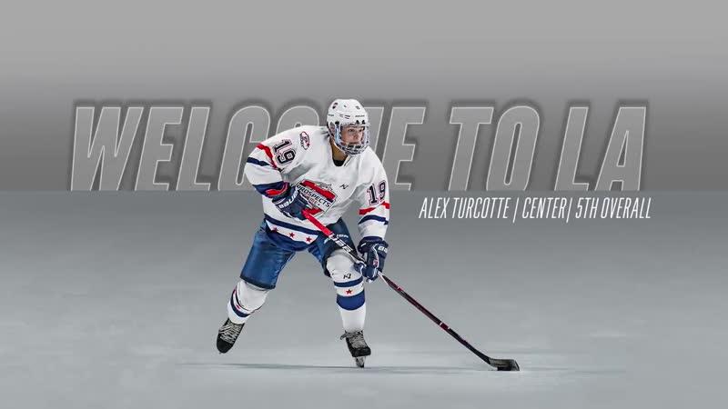 Драфт НХЛ 2019 Добро пожаловать в Лос Анджелес Алекс Туркотт