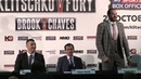 Tyson Fury tells Wladimir Klitschko: 'You've never fought a Gypsy king before'