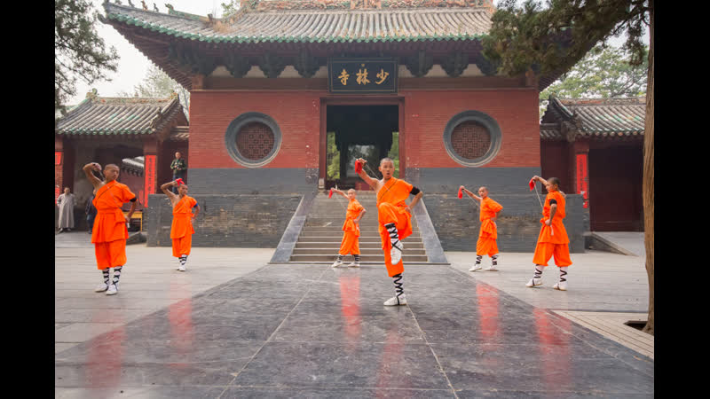 A typical day in a shaolin temple