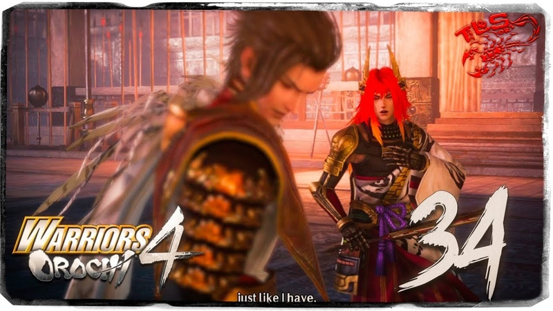 Story Mode ◄ Warriors Orochi 4 ► 34 Entrusted with a Plan
