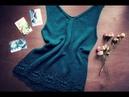 Как я прячу и закрепляю кончики из ШЁЛКА ♥ Wild Rose ♥ Вязание - это просто ♥