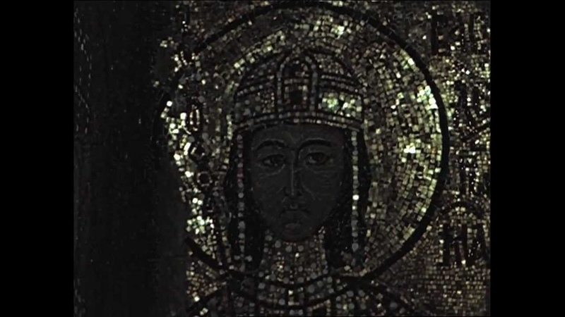 Hagia Sophia, Istanbul imperial portraits and south vestibule mosaics