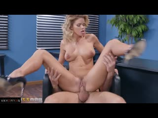 Jessa Rhodes & Charles Dera [ In the office &  Premium &  With talk / Deep blowjob, Between boobs, Old with young, Heels, Cu