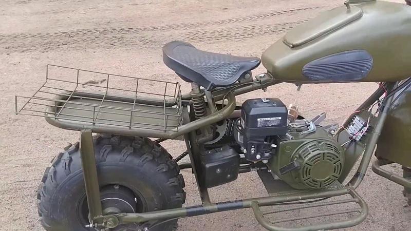 Двухколёсный драндулет собранный на коленке Прикольный мотик получился и главное быстрый Часть 2