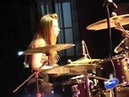 Yulia Savicheva - Yulia Drum Solo 22-22, Dvorec Kultury - Okha, 21.06.10