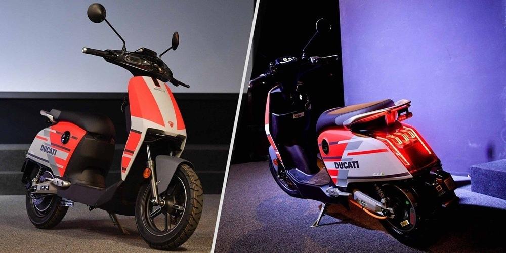 Электрический скутер Super Soco CUx Special Edition Ducati