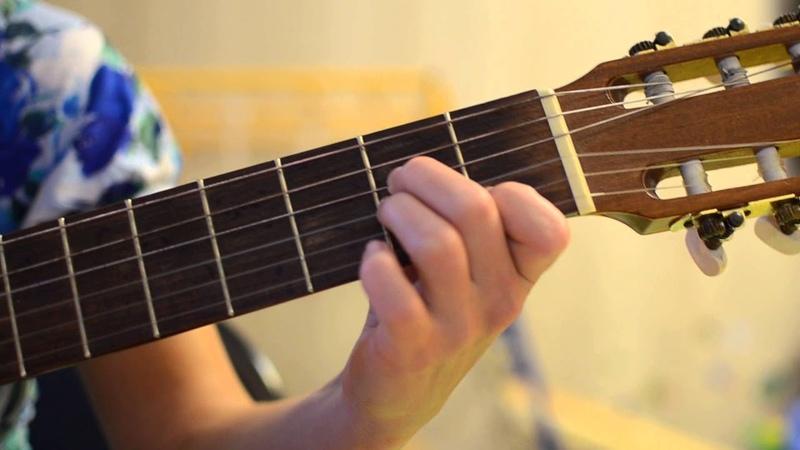 Школьный вальс аккорды на гитаре
