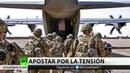 Irán dice no guerra ante envió de mil militares más de a la zona