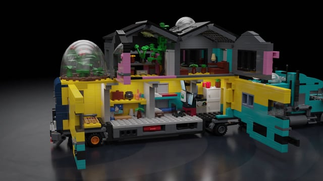 Lego Post Apocalyptic Truck